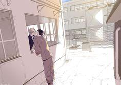 Daichi Sawamura x Sugawara Koushi (DaiSuga) / Haikyuu! Daichi Sawamura, Sugawara Koushi, Daisuga, Haikyuu Karasuno, Kageyama, Haikyuu Meme, Haikyuu Manga, Haikyuu Fanart, Yuri