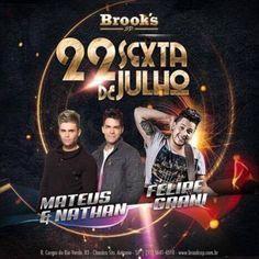 Brook's SP | Sextaneja da Brooks Coloque seu nome na lista através do link: http://www.baladassp.com.br/balada-sp-evento/Brooks-SP/374 Whats: 95167-4133