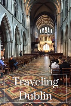 Traveling Dublin - V