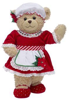 Christmas Teddy Bear, Christmas Love, Build A Bear Uk, Boyds Bears, Teddy Bears, Frozen Outfits, Plush Animals, Stuffed Animals, Build A Bear Outfits