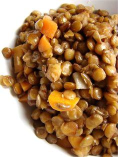 Family Feedbag: Baby food - Brown lentils