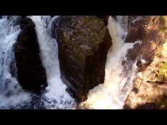 ▶ Autumn Scottish Waterfall River Braan Highland Perthshire Scotland - YouTube