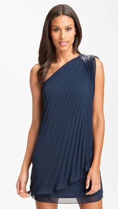 Pretty in pleats for Saturday's Recognition Banquet (source: Nordstrom)