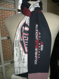 Columbus Blue Jackets by reteescarves on Etsy, $35.00