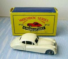 32-A 	Jaguar XK140 Matchbox Cars, My Youth, Train Set, Jaguar, Toys, Vehicles, Activity Toys, Clearance Toys