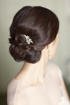 Elegant updo #WeddingLooks