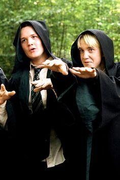 Oh tom Felton. I really hate Draco though Draco Harry Potter, Harry Potter Tumblr, Harry Potter World, Estilo Harry Potter, Mundo Harry Potter, Harry Potter Icons, Harry James Potter, Harry Potter Pictures, Harry Potter Characters