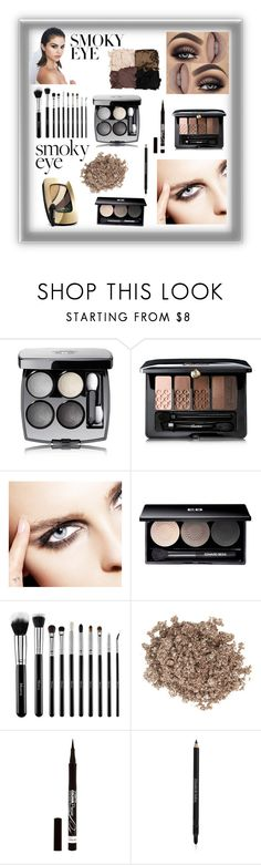 """Smoky 🖤"" by mystyleanna ❤ liked on Polyvore featuring beauty, Chanel, Guerlain, Edward Bess, Illamasqua, Rimmel, Elizabeth Arden and L'Oréal Paris"