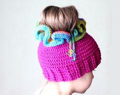 Messy Bun Crochet Hat Pattern, Crochet Ponytail Hat Pattern, Crochet Hat Ponytail Pattern, Ponytail Beanie Pattern, Bun Hat Pattern