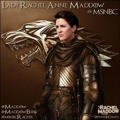 Lady Rachel. ....this is just so cool!