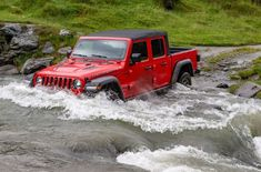 Jeep Gladiator, Jeep 4x4, Offroad, Driving In New Zealand, New Pickup, Adventure Car, Lake Wanaka, All Terrain Tyres, First Drive