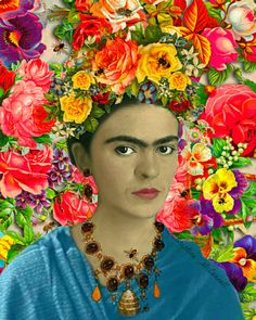 Frida Kahlo Bees Art Print