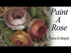 ▶ Painting a Simple Rose Box - YouTube