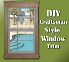 25 Astonishing Eksterior & Interior Window Trim Ideas for Your Dreamed House! #Interior #exterior #DIY #simple #farmhouse #ideas #craftsman #modern #molding #painting #kitchen #wood #styles #rustic #easy #bathroom #indoor #colonial #traditional  #contemporary #outdoor #stained #bay #large