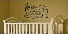 If I had a baby, and my theme was Noah's Ark!