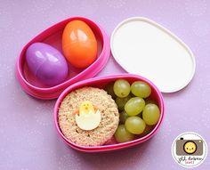 Easter Chick Bento Box!
