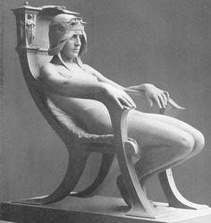 Albert Toft - (1862-1949) - The Spirit of Contemplation, 1901 #art #sculpture #statue