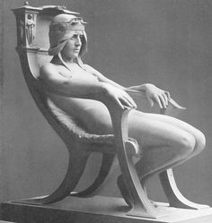 Albert Toft - (1862-1949) - The Spirit of Contemplation, 1901