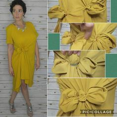 Style Hack: How to do a bow knot on a LuLaRoe Carly Swing Dress