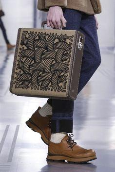 on the runway — money-in-veins: Louis Vuitton FW 2015 Menswear...