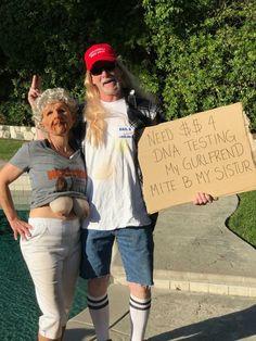 Hillbilly Trailer Trash Party Costume #halloweencoustumescouples