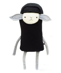 Look what I found on #zulily! Black Sheep Fleece Plush Toy #zulilyfinds