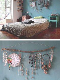 Hippie Bedroom Decor, Hippy Bedroom, Bohemian Bedroom Decor, Hippie Home Decor, Cozy Bedroom, Room Decor Bedroom, Diy Home Decor, Master Bedroom, Dorm Room