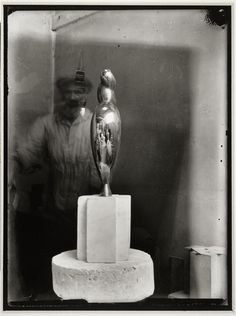 Constantin Brâncuși in his Studio (Atelier), Paris, 1928-1932