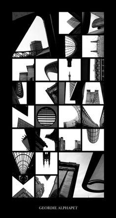 Quién: Peter Defty. Por qué: Su serie 'Alphatecture' crea tipografías con fotos de edificios. Categoría: Fotografía, Arquitectura. Más: www.peterdefty.com.