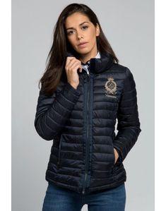 Valecuatro ropa mujer · Valecuatro chaqueta Alpes azul marino Valecuatro  chaqueta acolchada entallada color azul marino modelo Alpes. Prenda bcc91392979c