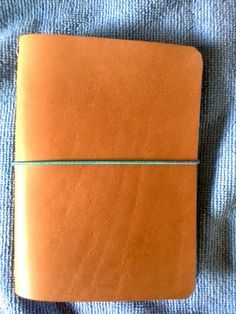 The Frugal Fountain Pen: Making Leather Traveler's Notebooks