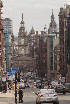 Glasgow, Scotland by cornyfeet