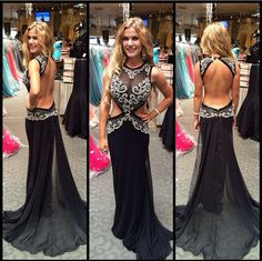 The sexy prom dress are fully lined, 4 bones in the bodice, chest pad in the bust, lace up back or zipper back are all available, total 126 colors are available. This dress could be custom made, there are no extra cost to do custom size and color. Description of sexy prom dress 1, Material: ...