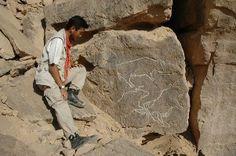 Oldest rock art in Egypt