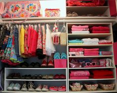 Creatively Organizing a Child's Closet