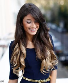 Black Hair With Blonde Tips Ombre 2015-2016, pictures 2015-2016