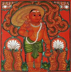 Kala Ksetram — Dashavataram, in kerala mural style