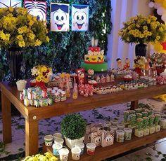 Festa Turma da Mônica decoração