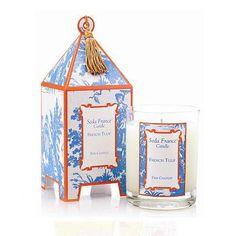 Seda France French Tulip Pagoda Candle