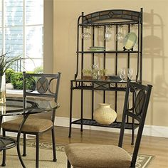 Best Wine Rack | Steve Silver Company Carolyn Bakers Rack 35 x 19 x 72 -- Check this awesome product by going to the link at the image. Note:It is Affiliate Link to Amazon.