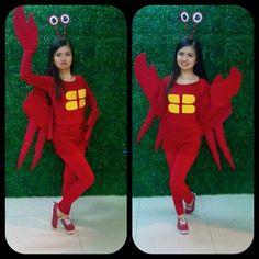 Diy sebastian crab costume