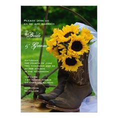 51f417b0e61 174 Best Rustic Cowboy Wedding Invitations images in 2019 ...