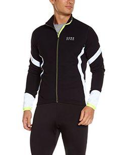 Gore Bike Wear Power 2.0 Termo - Camiseta de ciclismo para hombre, color amarillo y negro, talla S: Amazon.es: Deportes y aire libre