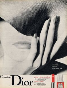 1967 Christian Dior cosmetics advert