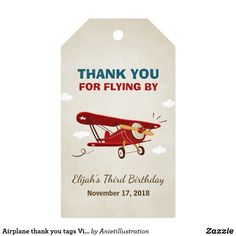 Vintage Airplanes Airplane thank you tags Vintage Adventure Travel - Shop Airplane thank you tags Vintage Adventure Travel created by Anietillustration. Personalize it with photos Vintage Airplane Party, Vintage Airplanes, Boys First Birthday Party Ideas, 1st Boy Birthday, Birthday Parties, Time Flies Birthday, Airplane Gifts, Airplane Party Favors, Airplane Baby Shower