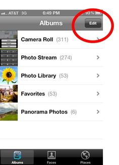 Photo albums are a new feature introduced in iOS 5. Sorting your photos into albums is not only a way to give order to the chaos that is the Photos app, but it