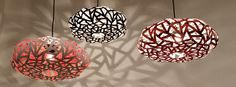 LAMPE 5 Lamp Otra  in plastics lights diy  with Upcycled Recycled Plastic otra Light Lamp design Color