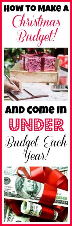 How to Make a Christmas Budget and Come in UNDER Budget! Freebies2Deals.com
