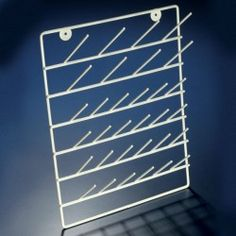 Coated Steel Drying / Draining Rack from Globe Scientific - Producers of Exceptional Quality Laboratory Supplies Epoxy Coating, Best Salon, Wall Organization, Cool Tools, Homemaking, Magazine Rack, Countertops, Lab