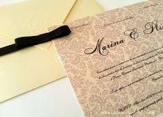 Convite de Casamento Clássico - Galeria de Convites